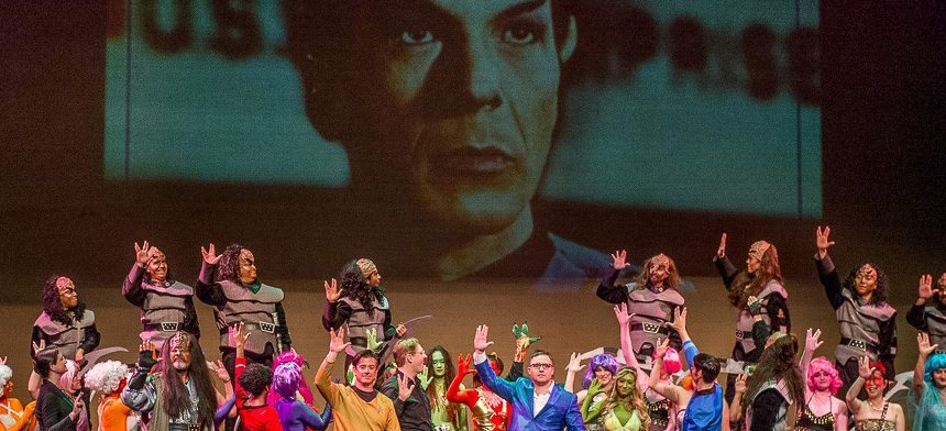 'Star Trek' Meets Mozart in Geek-Worthy Opera Mashup