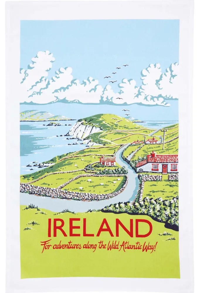This is not the tea towel that I got in Ireland, but if I'd seen it, you better believe I would have gotten it. Image: shop.bbc.com