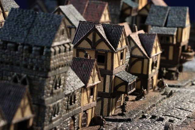 Take Your Fantasy Campaign to the Next Level With Dwarven Forge's City Builder