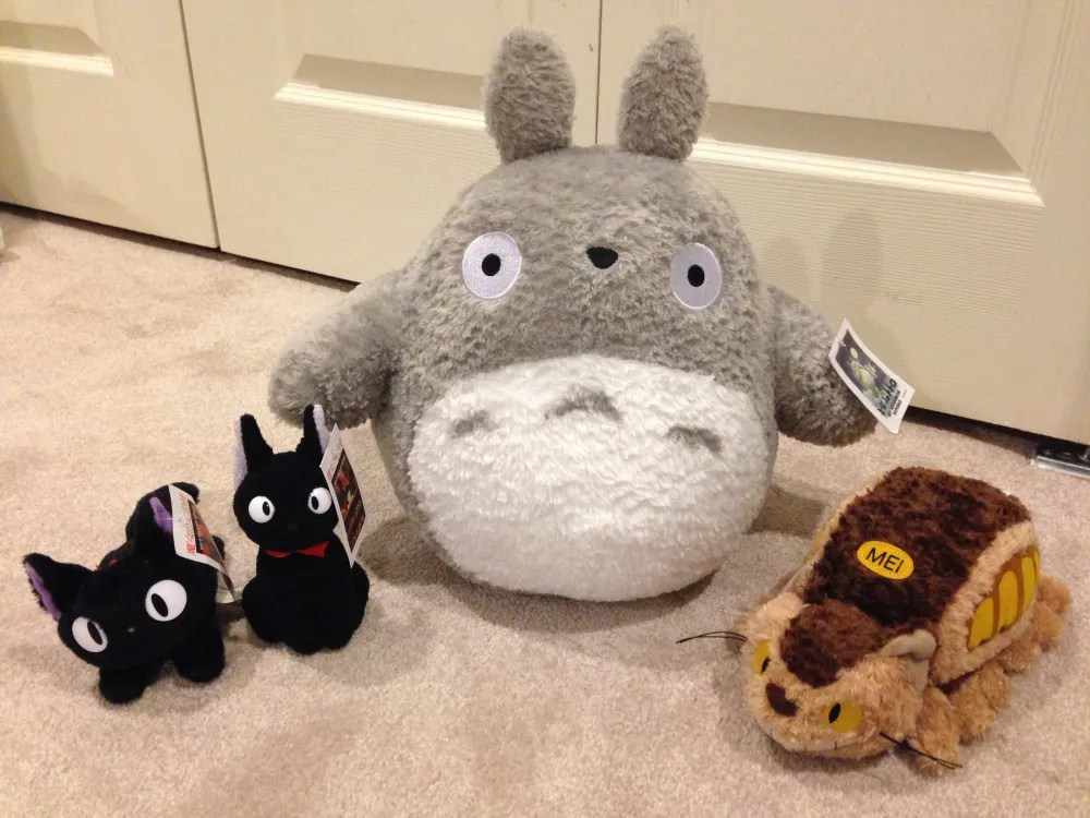 Gund Totoro toys