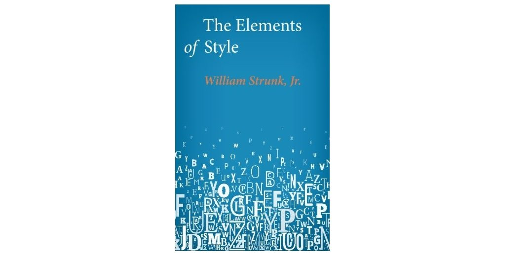The Little Book – 'The Elements of Style'