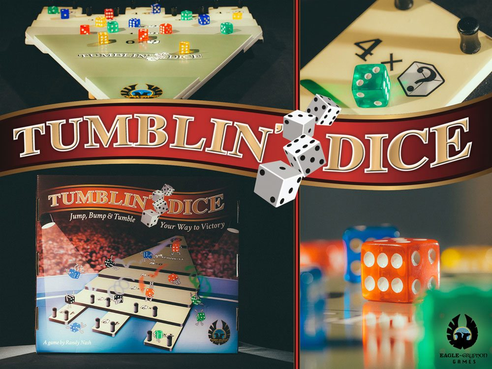 Kickstarter Tabletop Alert: 'Tumblin' Dice'