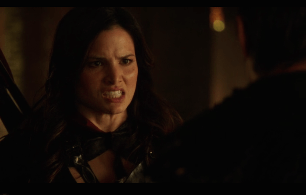 This scene in particular, was gold. Source: CW.
