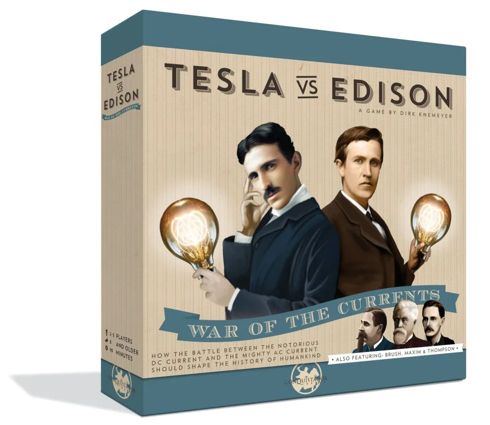 Tesla vs. Edison - War of the Currents