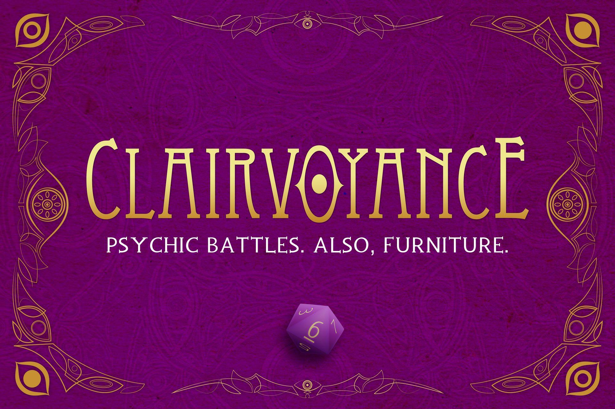 Kickstarter Tabletop Alert: 'Clairvoyance'