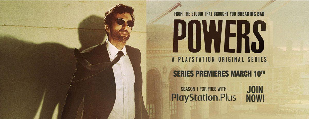 Playstation Premiers First Original Series Powers Geekdad