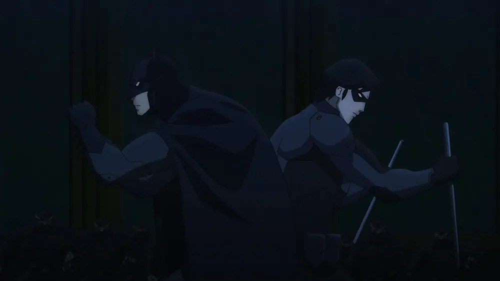 BvR-Batman and Nightwing