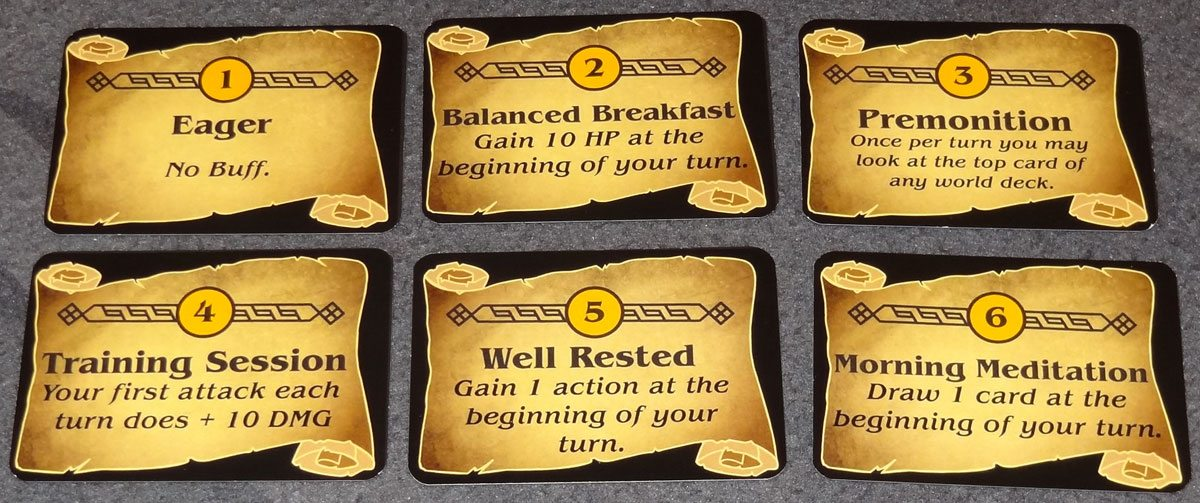 Champions of Hara priority cards