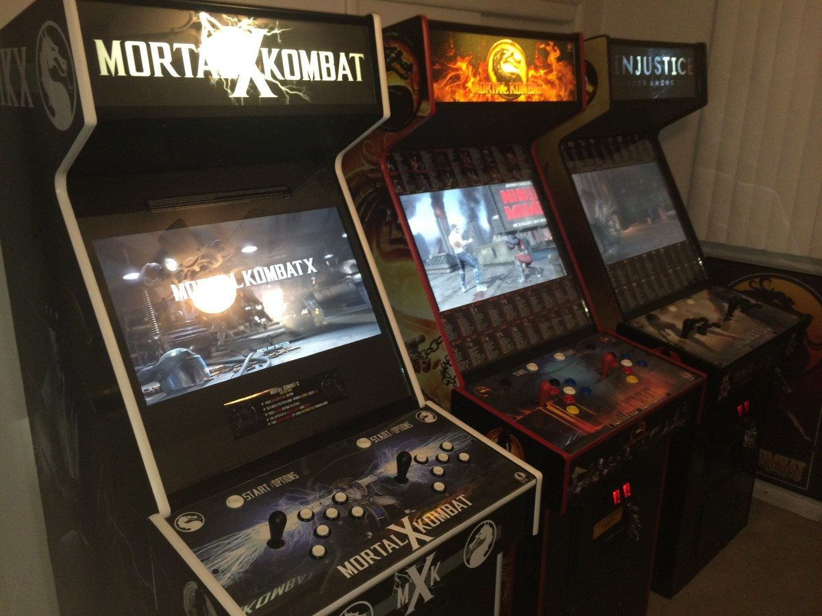 Mortal Kombat X Custom Arcade & Get Over Here! u0027Mortal Kombat Xu0027 Fan-Made Arcade Cabinet - GeekDad