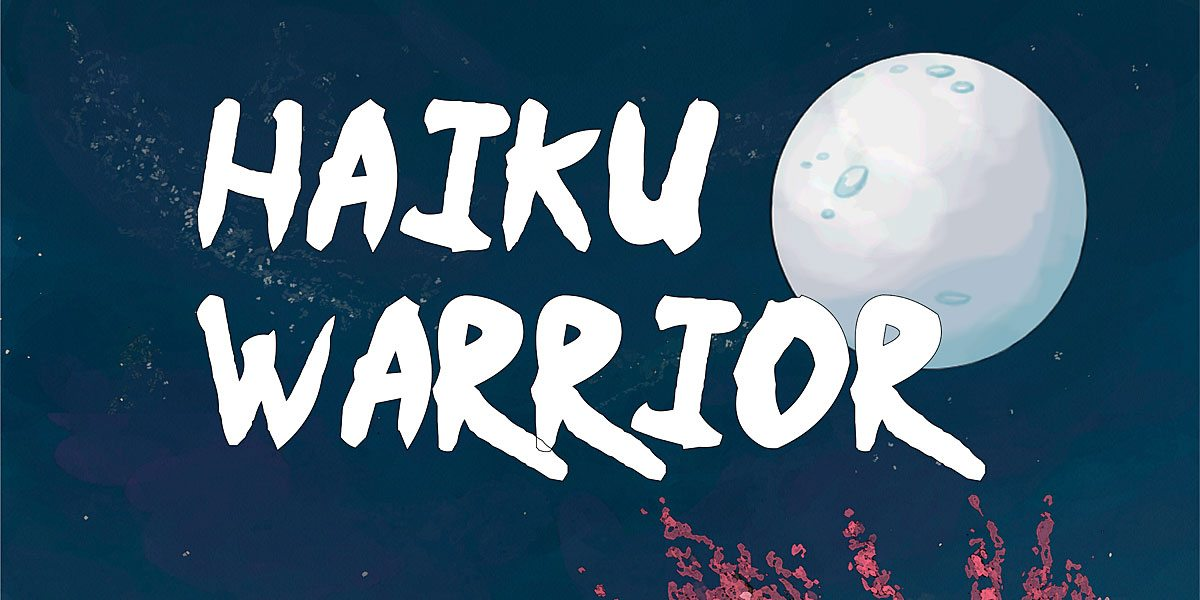 Kickstarter Tabletop Alert and Interview: Jason Anarchy's 'Haiku Warrior'