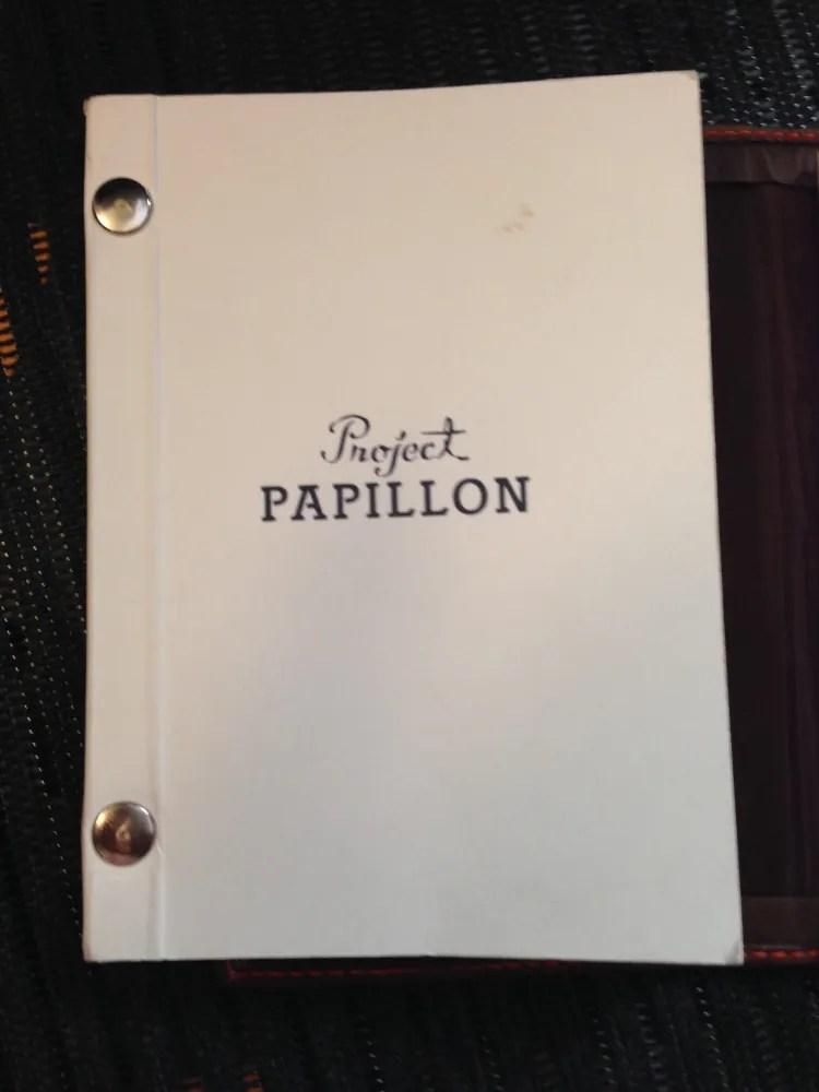 Project Papillon showing Rivets