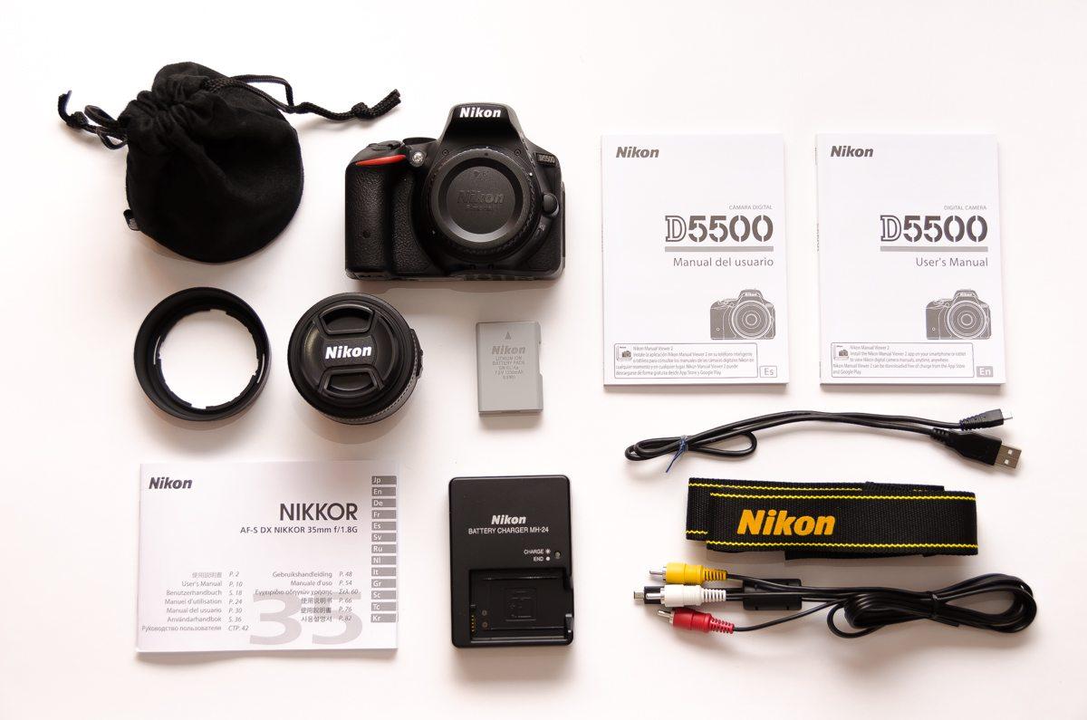 NikonD5500_Unboxing