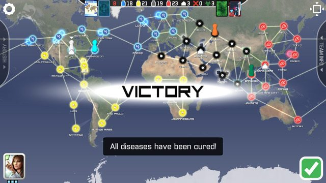 Screenshot of Victory Announcement. Image: Z-Man Games