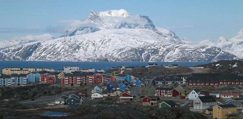 The capital city of Nuuk. Photo: Public Domain