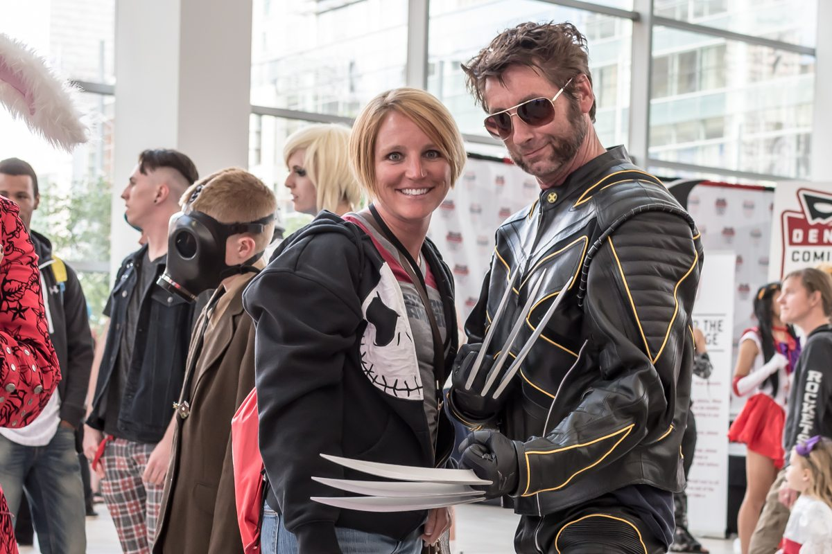 """Wolverine getting """"handsy?"""" with my wife"""