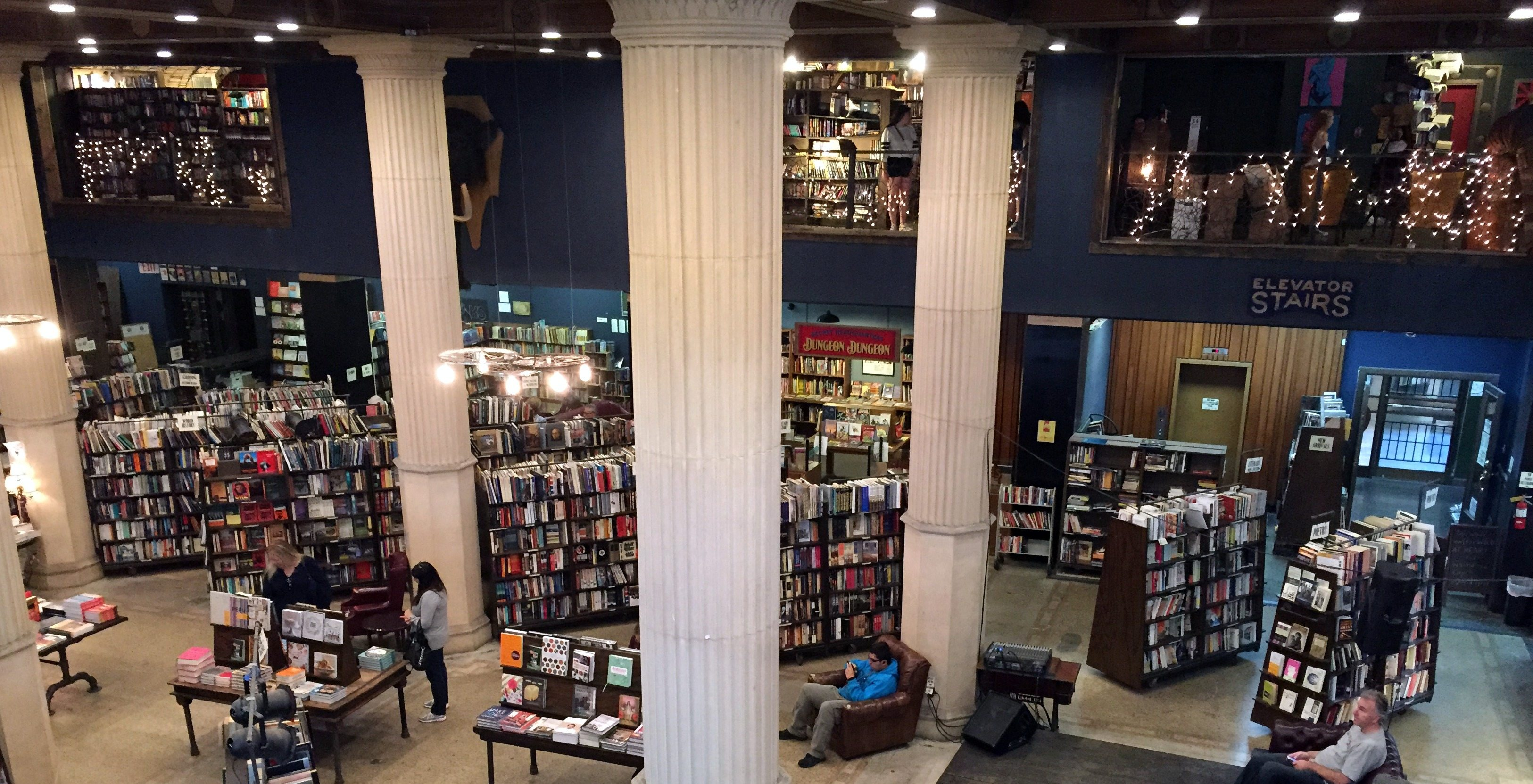 GeekMom Ariane had an adventure with her 4-year-old in Los Angeles, visiting The Last Bookstore.
