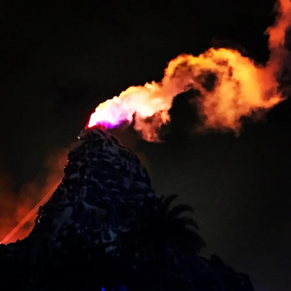 Matterhorn erupts