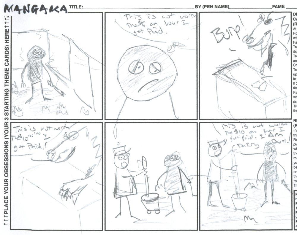 Mangaka Sample Round Three