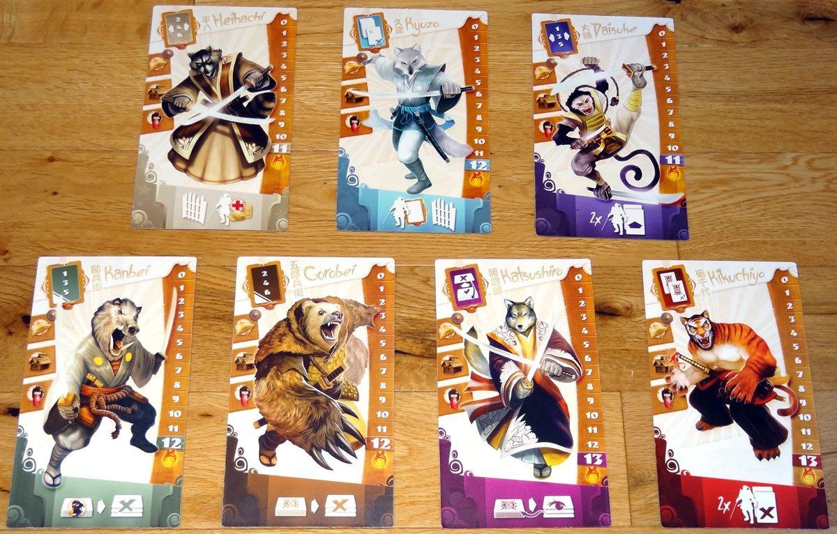 Samurai Spirit animals