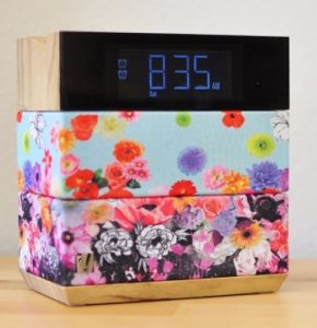 Sound Rise in flower pattern cover