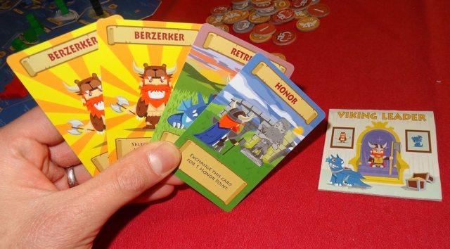 Vikings of Dragonia card hand