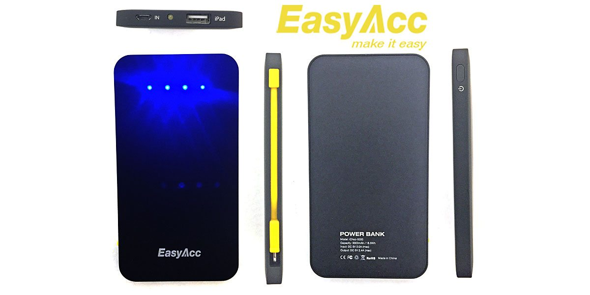 Review: EasyAcc iChoc 5000 Dual Port Power Bank