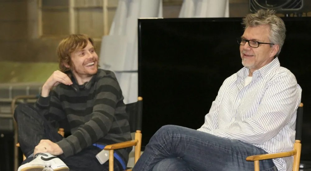 Jed Whedon (l) and Jeff Bell - Photo: ABC/Adam Taylor
