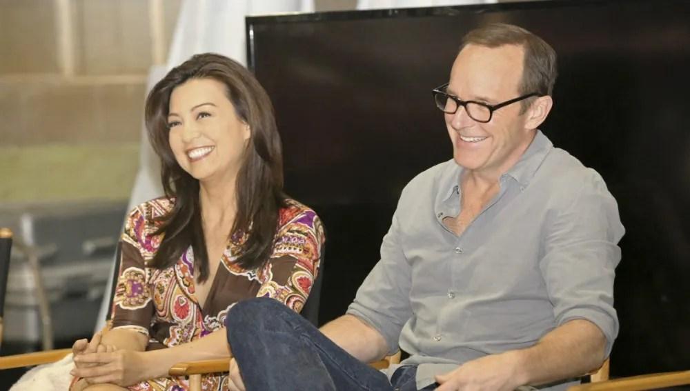 Ming-Na Wen and Clark Gregg - Photo: ABC/Adam Taylor