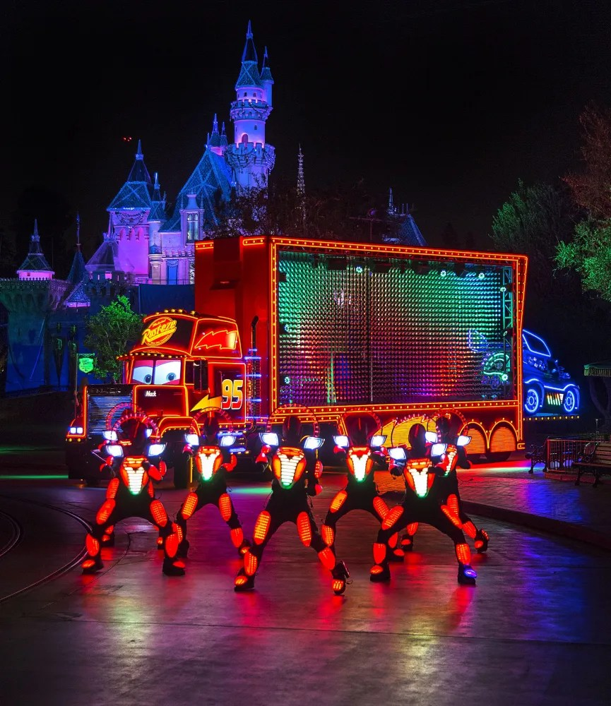 Paint the Night Parade at Disneyland