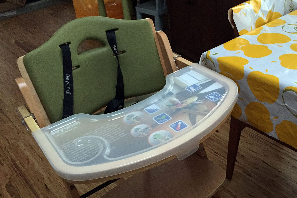 Review: Abiie Beyond Junior Y Highchair for All Ages - GeekDad