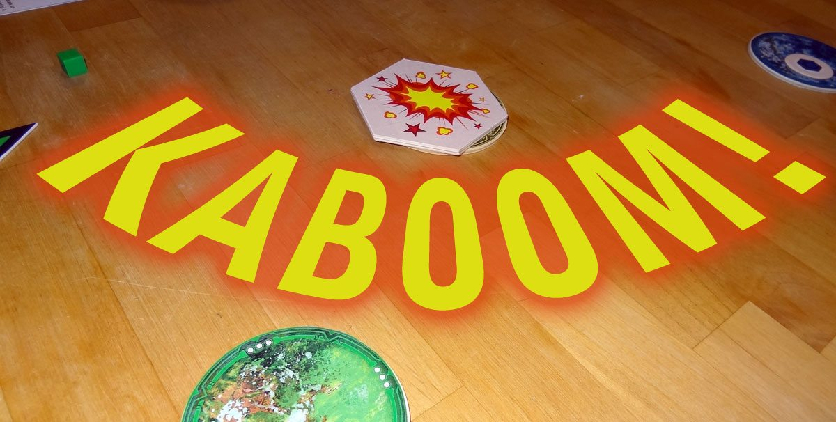 Cosmic Kaboom - bomb
