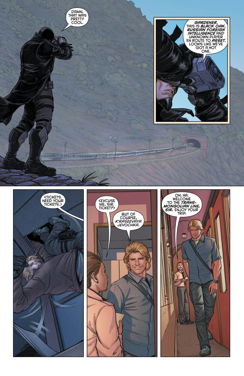 Grayson, Vol. 1, Page 4, Courtesy of DC Comics