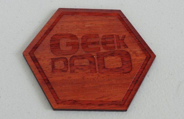 GeekDad coaster