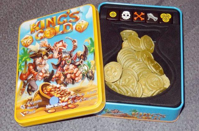 King's Gold box