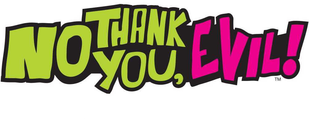 No thank You, Evil! Logo