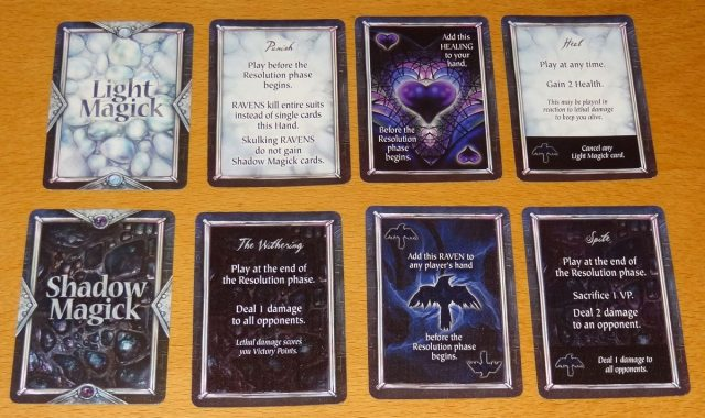 Nevermore Magick cards