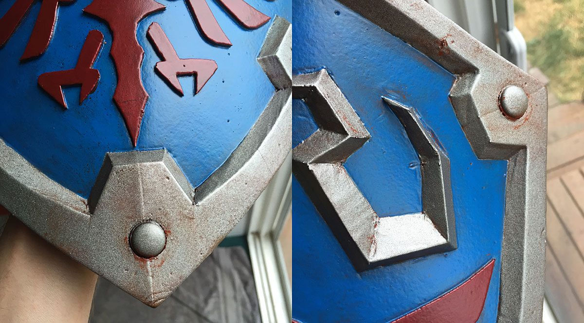 Shield-Weathered