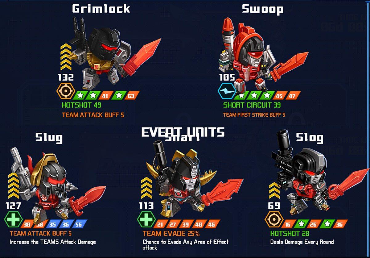 Commuter Gamer Transformers Battle Tactics Unleashes The Short Circuit Game Tfbt Dinobots Rewards