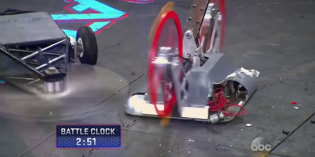 BattleBots Week 2 Recap – Flames, Lamé, and a Fishing Net?
