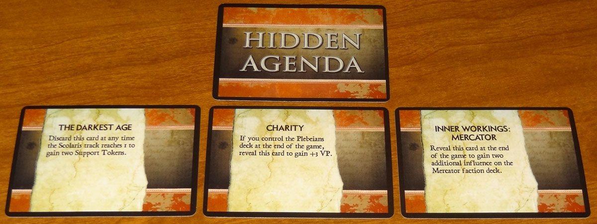 100 AD Hidden Agenda