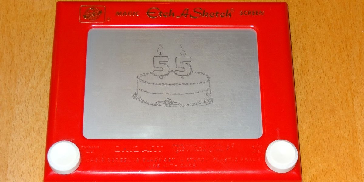Happy 55th Birthday, Etch-a-Sketch!