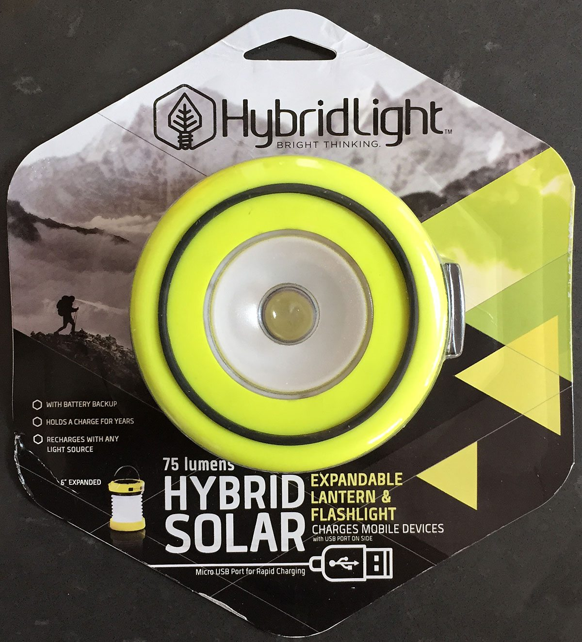 Review Hybridlight Solar Lantern Flashlight And Charger Geekdad Kabel Usb To Micro Howell High Quality 1 5 Meter