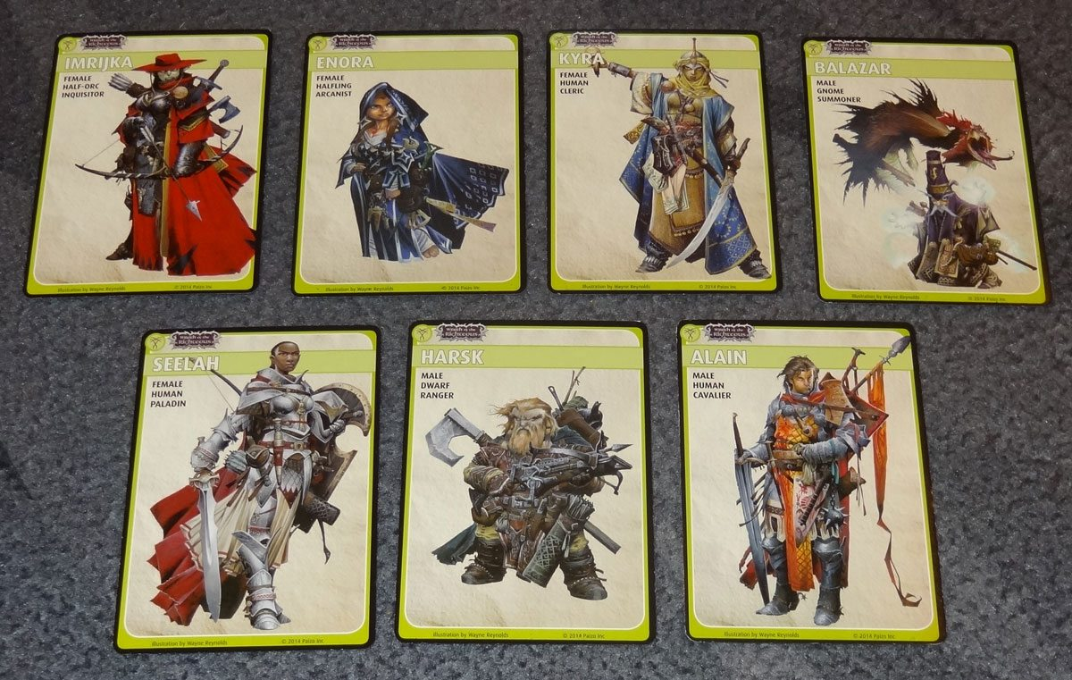 A Peek Inside 'Pathfinder Adventure Card Game: Wrath of the Righteous'