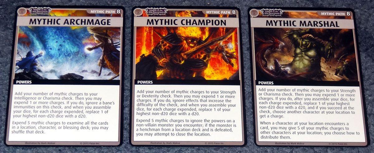 PACG Wrath Mythic Paths