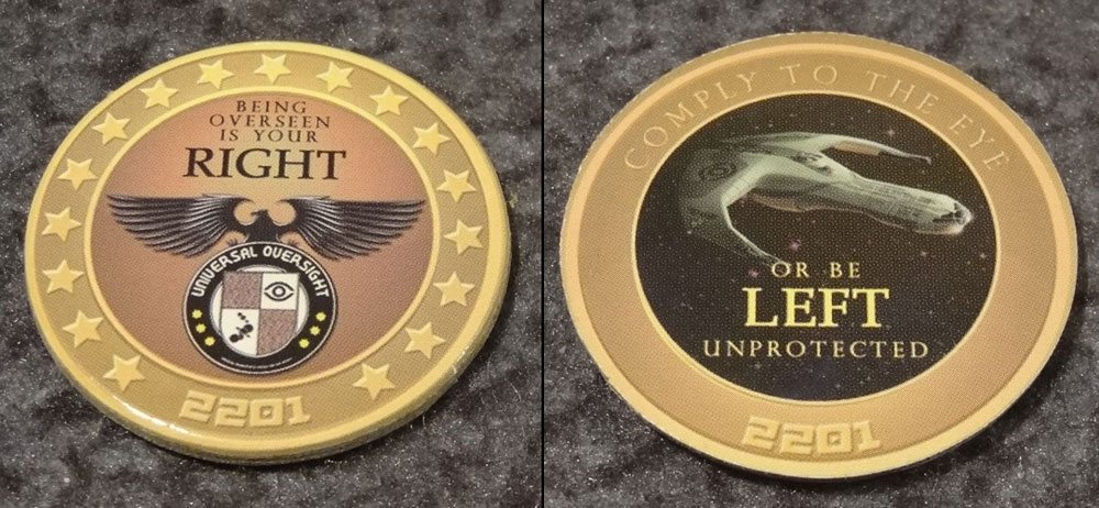 Space Movers coin