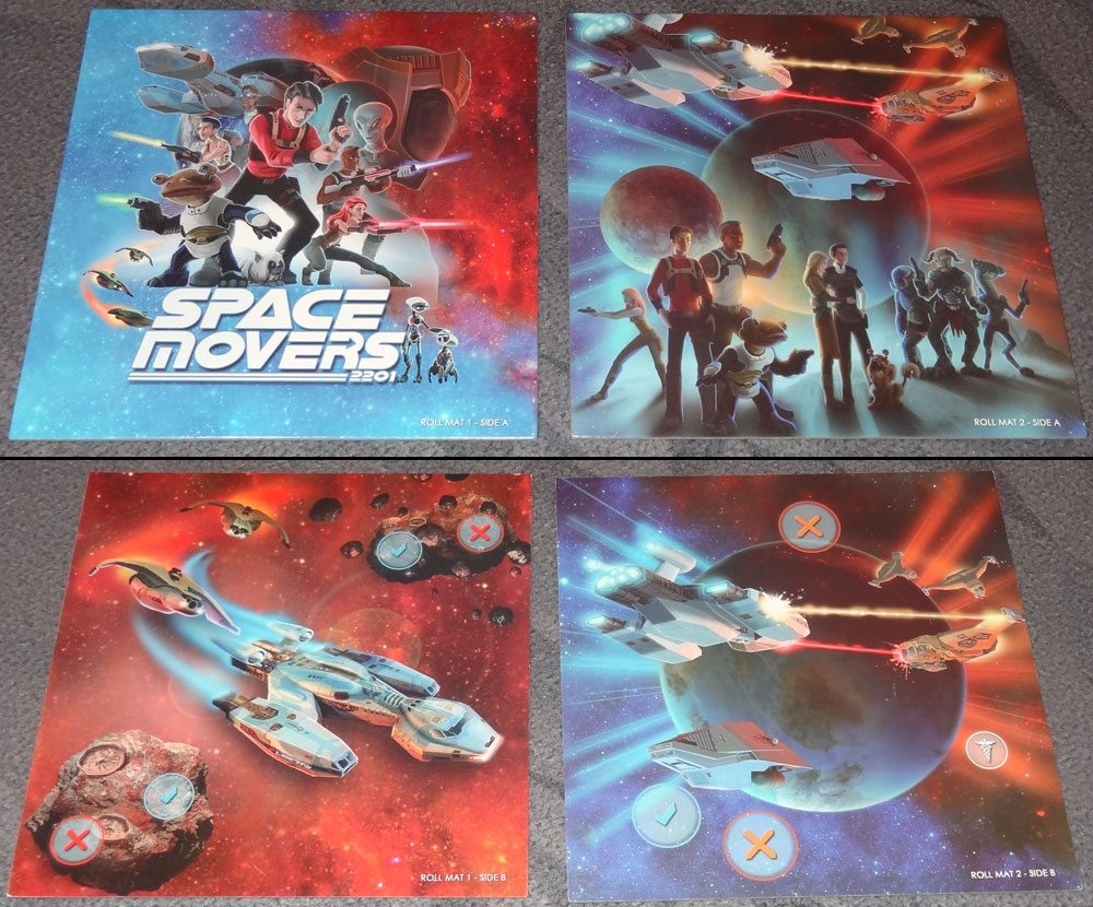 Space Movers roll mats