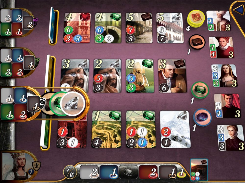 Splendor iOS opponents