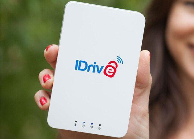 iDrive 1TB Wi-Fi Drive and 1TB Cloud Backup Bundle