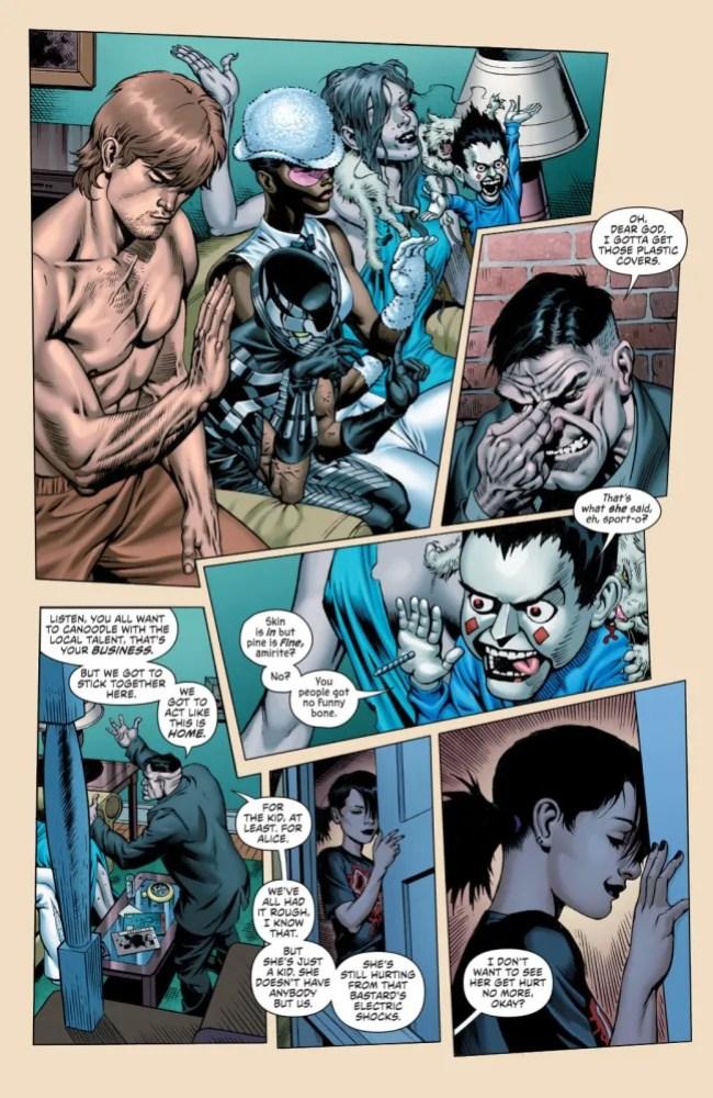 Secret Six #3 panel, copyright DC Comics