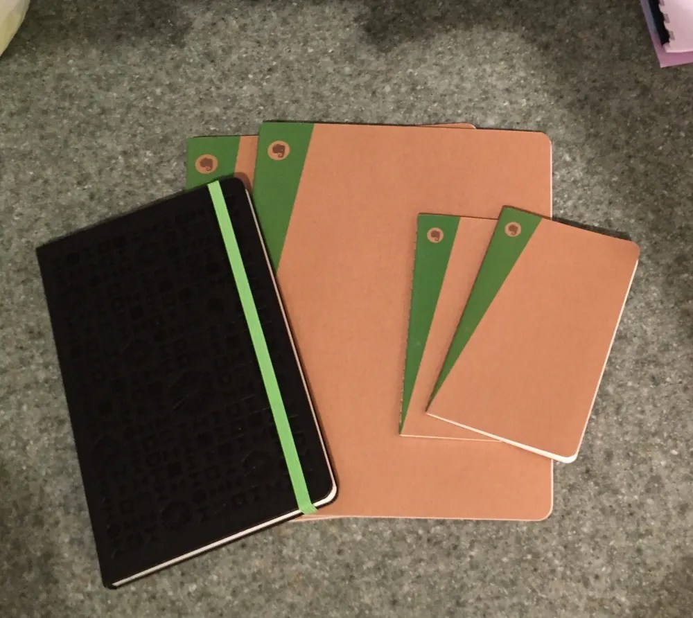 Moleskine Evernote w/out stickers